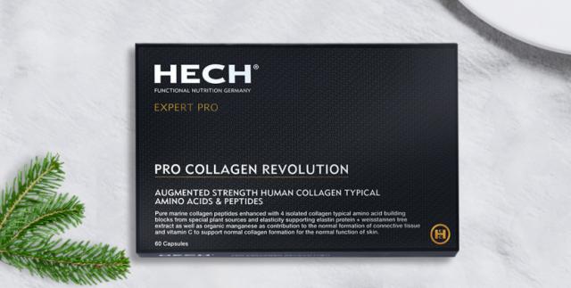 """德国赫熙HECH""""原胶原氨基肽"""",备受明星达人追捧的高级黑"""