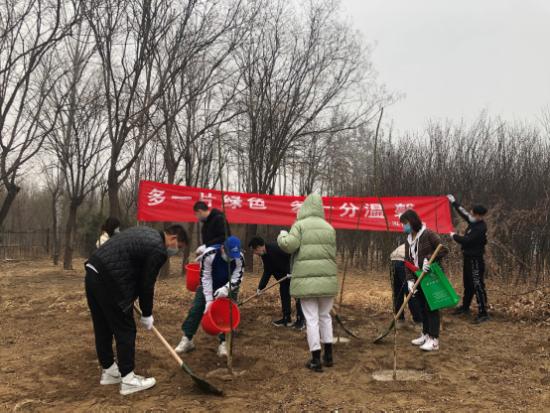 泓尚教育3.12植树主题活动成功举办
