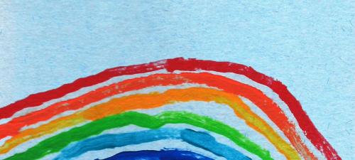 把彩虹背在身上,Obag的艺术家联名太治愈了
