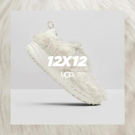 UGG重磅12x12限量系列,每月发售限量CA 805运动鞋