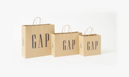 落实最基本的一步 Gap将全面停止使用塑料购物袋