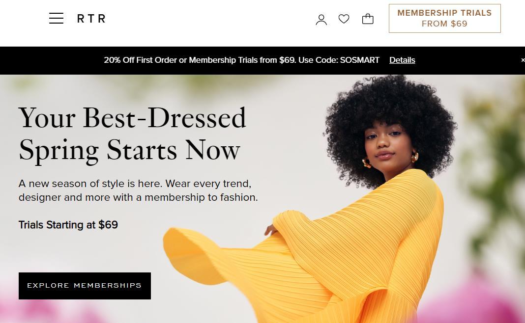美国时尚租赁网站 Rent the Runway 公布服装消毒流程,以免除用户对病毒的担忧