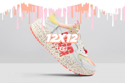 UGG重磅推出12x12限量系列八月款CA805 x 冰淇淋运动鞋