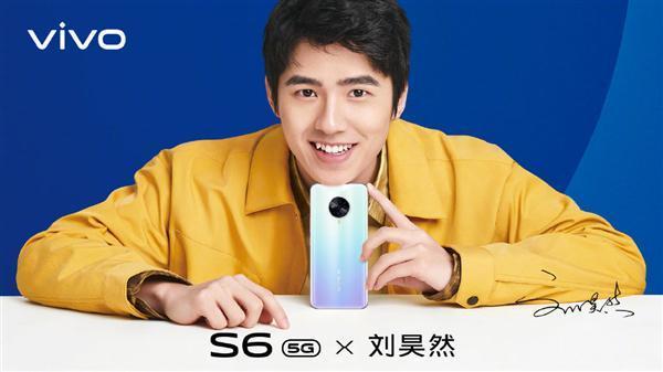 刘昊然帅气海报来袭,代言5G新机vivo S6引期待